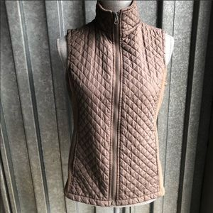 IZOD Quilted Vest w Zipper SZ SMALL